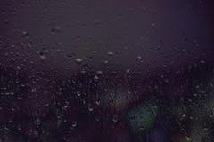 Deszczowy dzień na okno obrazy stock
