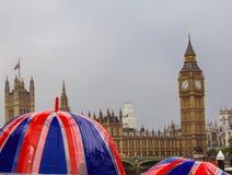 Deszczowy dzień w Londyn Zdjęcia Royalty Free