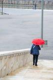 Deszczowy dzień w Bilbao Zdjęcie Royalty Free