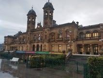 Deszczowy dzień w San Sebastian obraz royalty free
