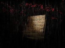 Deszczu dźwięk Obraz Royalty Free