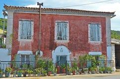 Det äldsta huset från Zakynthos Royaltyfri Fotografi