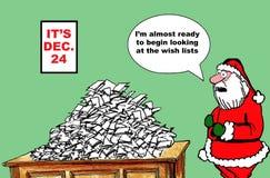 Det är December 24 Arkivbild