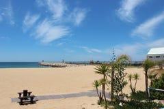 Det är den Portugal stranden i Algarve Royaltyfria Foton