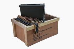 Det är en ask av ammunitionar Royaltyfria Foton