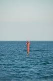 Det är en fyr i det boyan havet Royaltyfri Foto