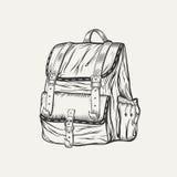 Det är en illustration av ryggsäcken Royaltyfri Foto