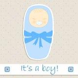 Det är en pojke Royaltyfri Foto