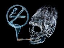 Det är farligt att röka Royaltyfri Foto