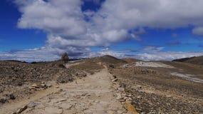 Det är vägen över kullarna Royaltyfri Bild
