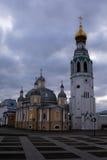 Det återställda kyrkliga komplexet Fotografering för Bildbyråer