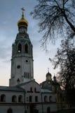 Det återställda kyrkliga komplexet Arkivfoton