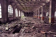 Det övergav golvet maler i Frankrike Royaltyfri Foto