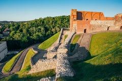 Det övreVilnius slottkomplexet, är en grupp av arkivfoton