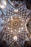 Det Abbasian huset i Kashan, Iran Royaltyfri Fotografi