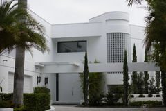 det abstrakt huset spikar Royaltyfri Foto