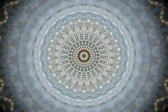 Det abstrakta ingreppsrastret förtjänar mandalaen Royaltyfri Fotografi