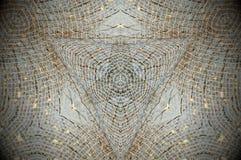 Det abstrakta ingreppsrastret förtjänar mandalaen Arkivbilder