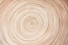 Det abstrakta lagret av bambu i linje rundade modeller för textur eller bakgrund royaltyfri fotografi