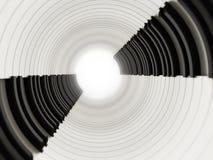 Det abstrakta pianot stämmer bakgrund illustration 3d Arkivfoto