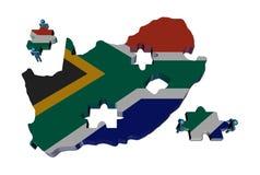 det africa M folket pieces söder Arkivbilder