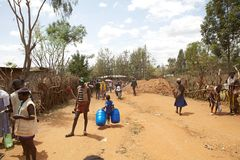 Afrikanskt barn Fotografering för Bildbyråer