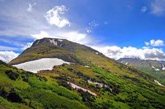 Det alaskabo berg beskådar Arkivbilder