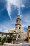 Det Alcudia klockatornet Fotografering för Bildbyråer