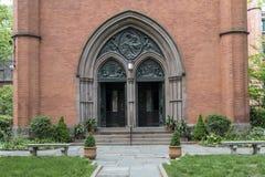 Det allmänna teologiska seminariet av episkopalkyrkan i NYC Arkivfoton