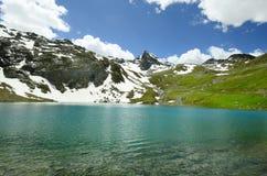 det alpesÖsterrike berg betar tirol Royaltyfria Foton