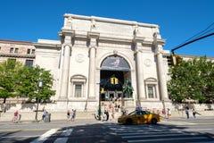 Det amerikanska museet av naturhistoria i New York Royaltyfria Bilder