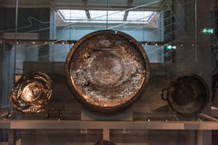 Det Anastaslus uppläggningsfatet, British Museum, London Royaltyfri Foto