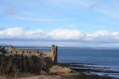 det andrews slottet fördärvar st Fotografering för Bildbyråer