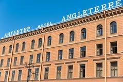 Det Angleterre hotellet, St Petersburg Fotografering för Bildbyråer
