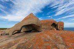 Det anmärkningsvärt vaggar, känguruön, södra Australien Royaltyfri Bild