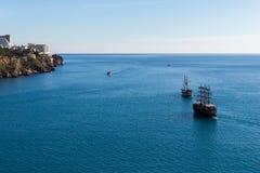 Det Antalya fartyget turnerar Royaltyfri Fotografi