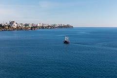 Det Antalya fartyget turnerar Arkivbild
