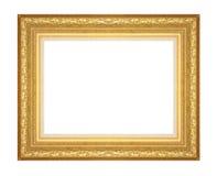 Det antika guld- inramar Royaltyfria Foton