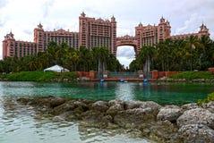 Det Atlantis hotellet, Nassau bah Arkivfoto