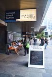 Det Auckland rådet arkiverar akademibior Royaltyfria Foton