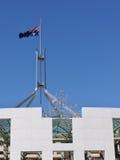 Det australiska huset av parliamant royaltyfri fotografi