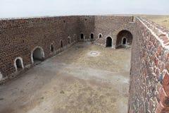 Det Aziziye fortet III i Erzurum, Turkiet Royaltyfri Fotografi