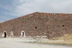 Det Aziziye fortet III i Erzurum, Turkiet Royaltyfria Bilder