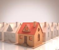 Det bästa huset Arkivbild