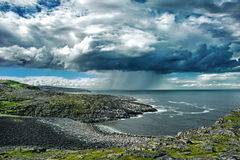 Det Barents havet arkivfoton