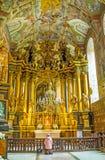 Det barocka altaret Royaltyfri Foto
