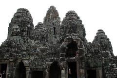 Det Bayon tempelet Royaltyfri Bild