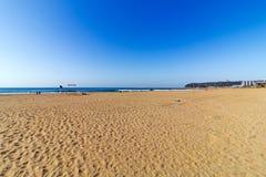 Det Beachfront arkivfoton