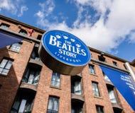 Det Beatles museet Royaltyfri Fotografi