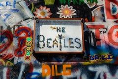 Det Beatles tecknet Royaltyfri Bild